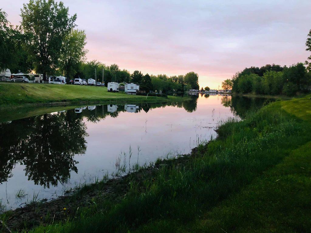 site de camping Rougemont